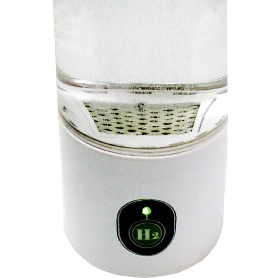 僅か3分30秒で高濃度水素水を生成