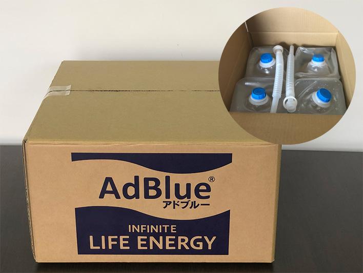 アドブルー5L4個セット